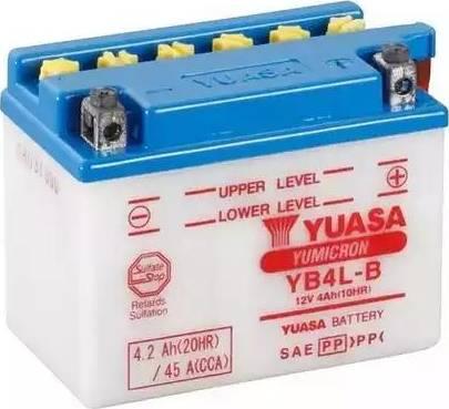 Yuasa YB4L-B - Käivitusaku multiparts.ee