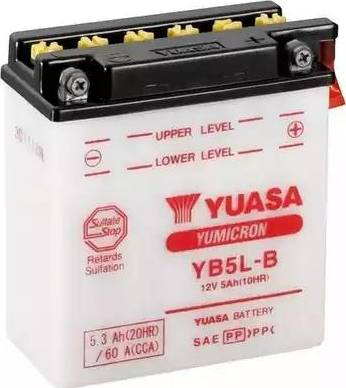 Yuasa YB5L-B - Käivitusaku multiparts.ee