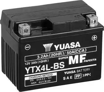 Yuasa YTX4L-BS - Käivitusaku multiparts.ee