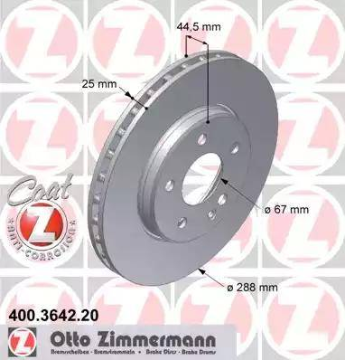 Zimmermann 400.3642.20 - Piduriketas multiparts.ee