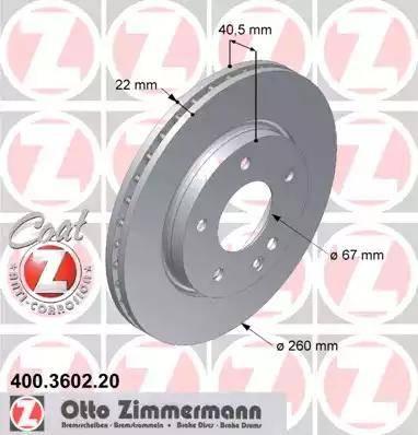 Zimmermann 400.3602.20 - Piduriketas multiparts.ee