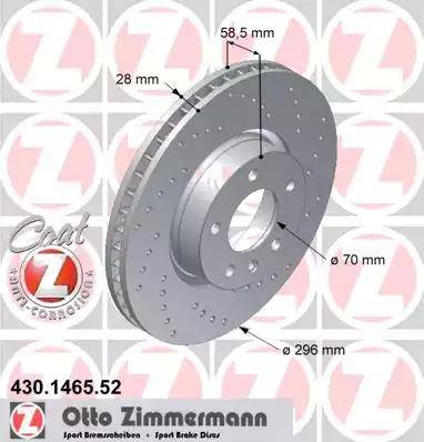 Zimmermann 430.1465.52 - Piduriketas multiparts.ee