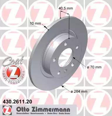 Zimmermann 430.2611.20 - Piduriketas multiparts.ee
