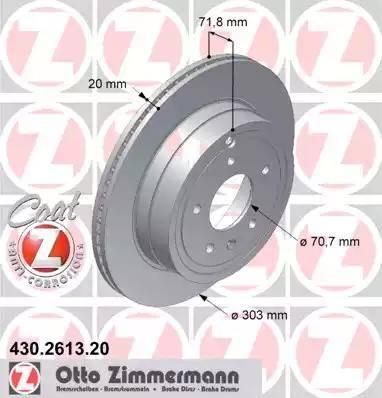 Zimmermann 430.2613.20 - Piduriketas multiparts.ee