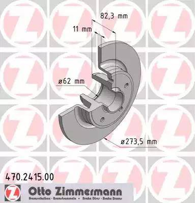 Zimmermann 470.2415.00 - Piduriketas multiparts.ee
