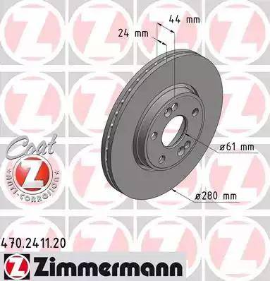 Zimmermann 470.2411.20 - Piduriketas multiparts.ee