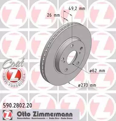 Zimmermann 590.2802.20 - Piduriketas multiparts.ee
