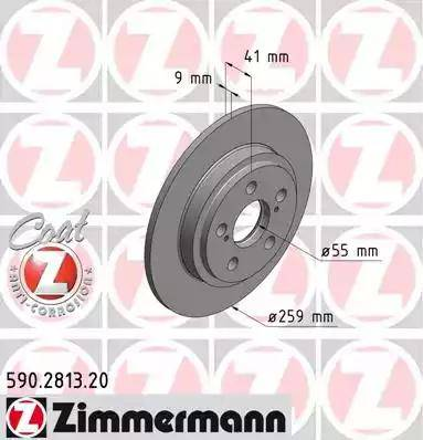 Zimmermann 590.2813.20 - Piduriketas multiparts.ee
