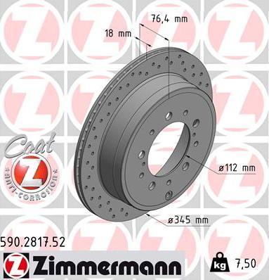 Zimmermann 590.2817.52 - Piduriketas multiparts.ee