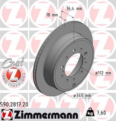 Zimmermann 590.2817.20 - Piduriketas multiparts.ee