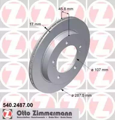 Zimmermann 540.2487.00 - Piduriketas multiparts.ee