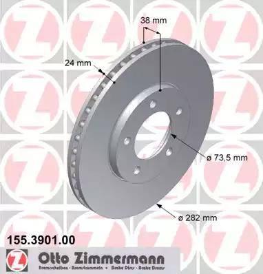 Zimmermann 155.3901.00 - Piduriketas multiparts.ee