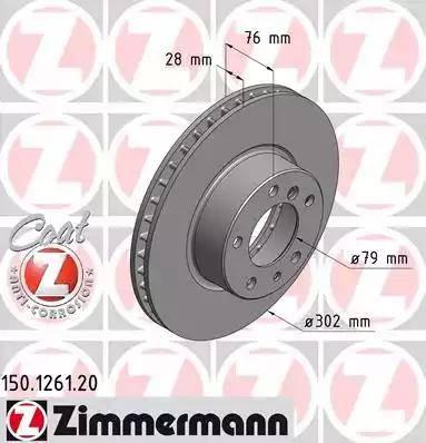 Zimmermann 150.1261.20 - Piduriketas multiparts.ee