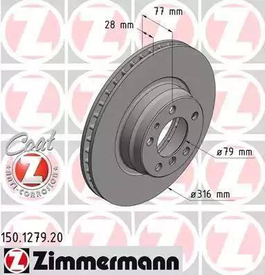 Zimmermann 150.1279.20 - Piduriketas multiparts.ee
