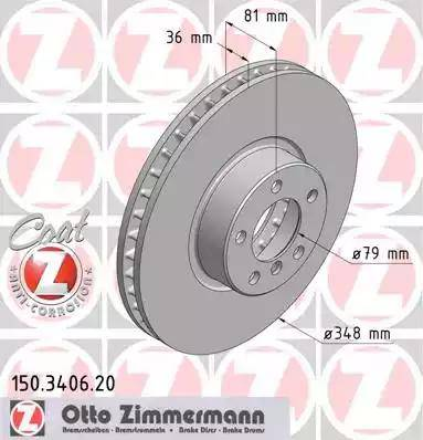 Zimmermann 150.3406.20 - Piduriketas multiparts.ee
