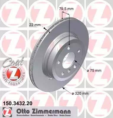 Zimmermann 150.3432.20 - Piduriketas multiparts.ee