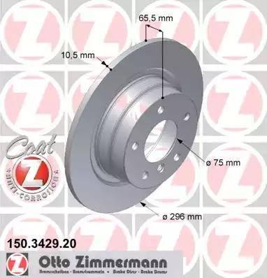 Zimmermann 150.3429.20 - Piduriketas multiparts.ee