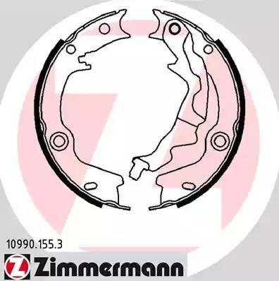 Zimmermann 10990.155.3 - Piduriklotside komplekt,seisupidur multiparts.ee