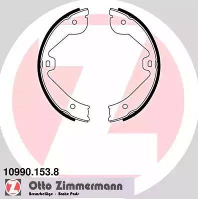 Zimmermann 10990.153.8 - Piduriklotside komplekt,seisupidur multiparts.ee