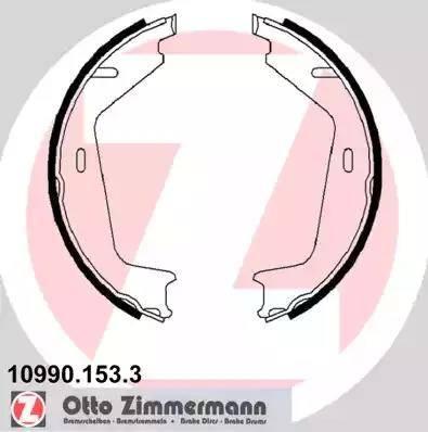 Zimmermann 10990.153.3 - Piduriklotside komplekt,seisupidur multiparts.ee