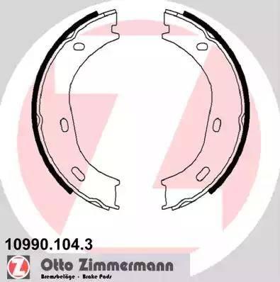 Zimmermann 10990.104.3 - Piduriklotside komplekt,seisupidur multiparts.ee