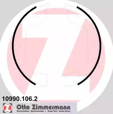 Zimmermann 10990.106.2 - Piduriklotside komplekt,seisupidur multiparts.ee