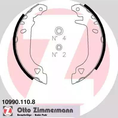 Zimmermann 10990.110.8 - Piduriklotside komplekt multiparts.ee