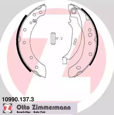 Zimmermann 10990.137.3 - Piduriklotside komplekt,seisupidur multiparts.ee