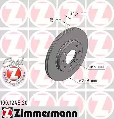 Zimmermann 100.1245.20 - Piduriketas multiparts.ee