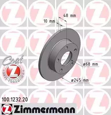 Zimmermann 100.1232.20 - Piduriketas multiparts.ee