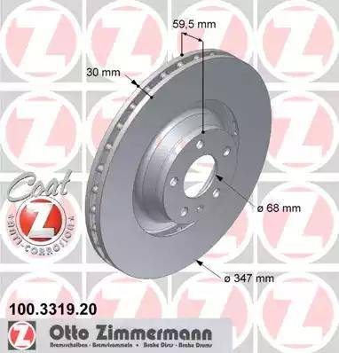 Zimmermann 100.3319.20 - Piduriketas multiparts.ee