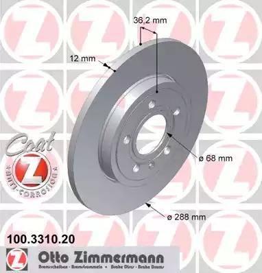 Zimmermann 100.3310.20 - Piduriketas multiparts.ee