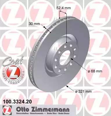 Zimmermann 100.3324.20 - Piduriketas multiparts.ee