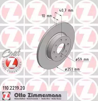 Zimmermann 110.2219.20 - Piduriketas multiparts.ee