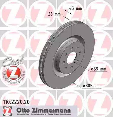 Zimmermann 110.2220.20 - Piduriketas multiparts.ee