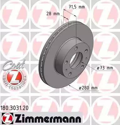 Zimmermann 180.3031.20 - Piduriketas multiparts.ee