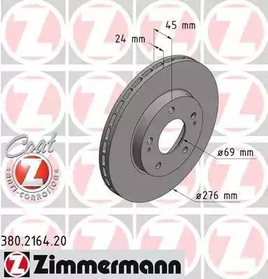 Zimmermann 380.2164.20 - Piduriketas multiparts.ee