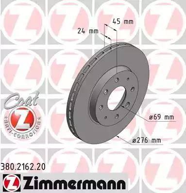 Zimmermann 380.2162.20 - Piduriketas multiparts.ee