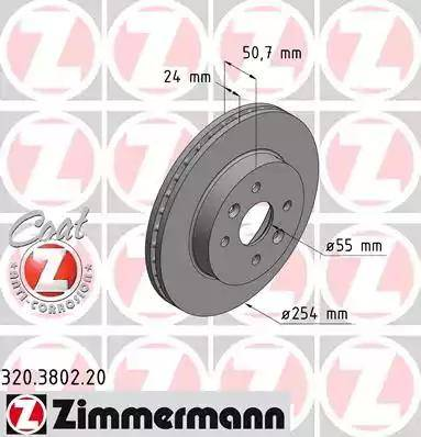 Zimmermann 320.3802.20 - Piduriketas multiparts.ee