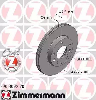 Zimmermann 370.3072.20 - Piduriketas multiparts.ee