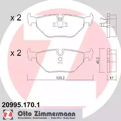 Zimmermann 20995.170.1 - Piduriklotsi komplekt,ketaspidur multiparts.ee