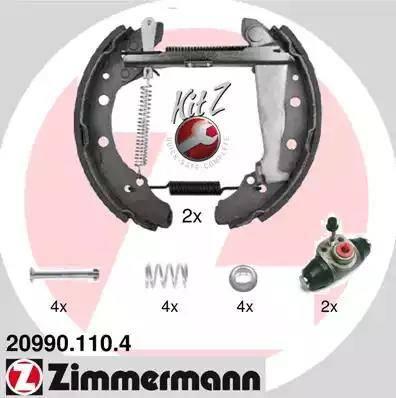 Zimmermann 20990.110.4 - Piduriklotside komplekt multiparts.ee