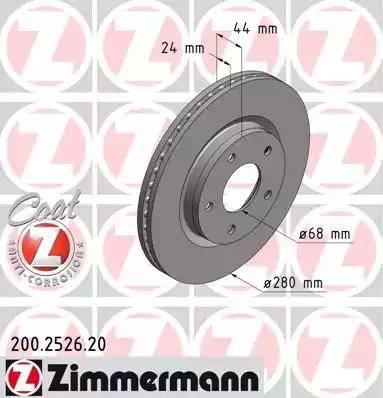 Zimmermann 200.2526.20 - Piduriketas multiparts.ee