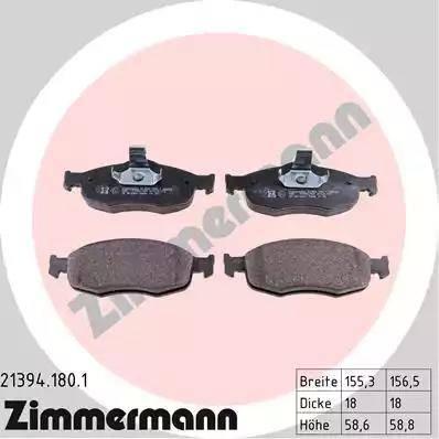 Zimmermann 21394.180.1 - Piduriklotsi komplekt,ketaspidur multiparts.ee