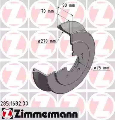 Zimmermann 285.1682.00 - Piduritrummel multiparts.ee