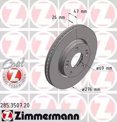 Zimmermann 285.3507.20 - Piduriketas multiparts.ee
