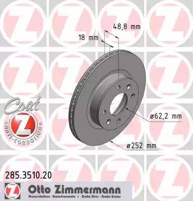 Zimmermann 285.3510.20 - Piduriketas multiparts.ee