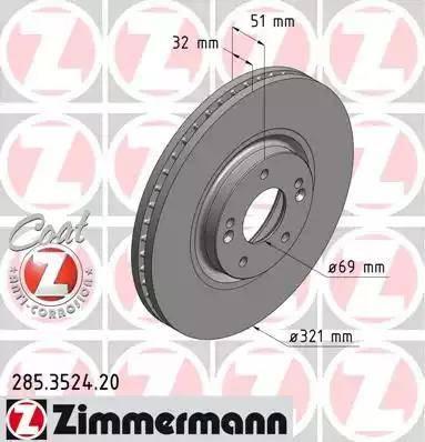 Zimmermann 285.3524.20 - Piduriketas multiparts.ee