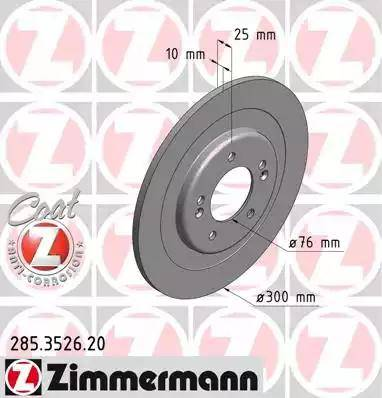 Zimmermann 285.3526.20 - Piduriketas multiparts.ee