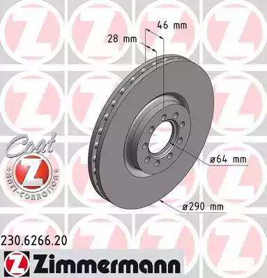 Zimmermann 230.6266.20 - Piduriketas multiparts.ee